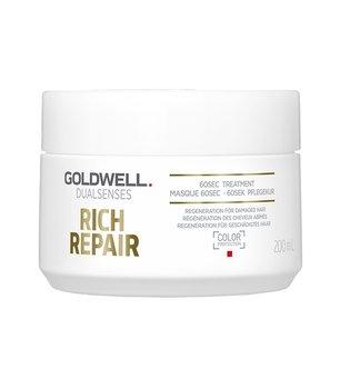 Goldwell, Dualsenses Rich Repair, kuracja do włosów zniszczonych, 200 ml-Goldwell