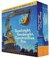 Goodnight, Goodnight, Construction Site and Steam Train, Dream Train Board Books Boxed Set-Rinker Sherri Duskey