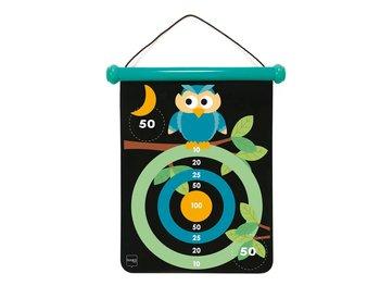 Gra dart dla dzieci - Rzutki magnetyczne - Sowy-Scratch