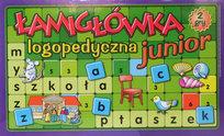 Gra edukacyjna Łamigłówka logopedyczna Junior