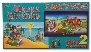 Gra planszowa, 2w1 Zamczysko, Wyspa Piratów