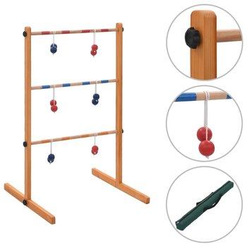 Gra plenerowa Spin Ladder, wykonana z drewna-vidaXL