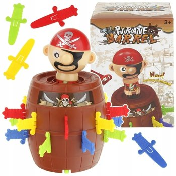Gra zręcznościowa szalony pirat w beczce beczka-SuperZabaweczki
