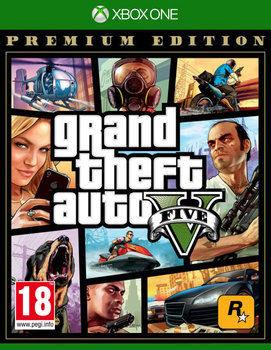 Grand Theft Auto V - Edycja Premium-Rockstar Games