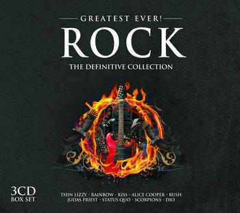 Greatest Ever Rock. Definitive Collection-Scorpions, Uriah Heep, Rush, Status Quo, Moore Gary, Judas Priest, Thin Lizzy, Nazareth, Rainbow, Asia