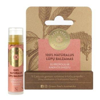 Green Feel's, Natural Lip Balm balsam do ust Propolis 5g-Green Feel's