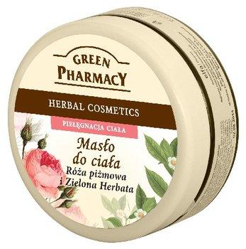 Green Pharmacy, masło do ciała Róża piżmowa i Zielona Herbata, 200 ml-Green Pharmacy