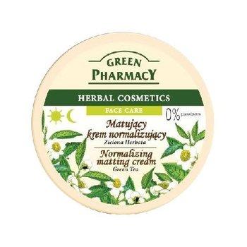 Green Pharmacy, normalizujący krem do twarzy z zieloną herbatą, 150 ml-Green Pharmacy