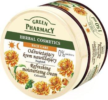 Green Pharmacy, odświeżający krem do twarzy z nagietkiem, 150 ml-Green Pharmacy