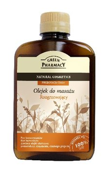 Green Pharmacy, olejek do masażu, Rozgrzewający, 200 ml-Green Pharmacy