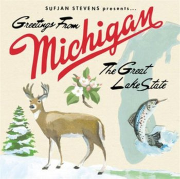 Greetings from michigan the great lake state stevens sufjan greetings from michigan the great lake state m4hsunfo