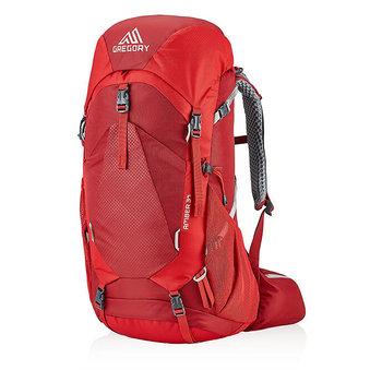 Gregory, Plecak turystyczny, Amber W 126867, czerwony, 34L -Gregory