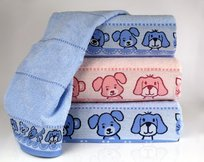 Greno, Ręcznik, Misie New, 30x50 cm, niebieski