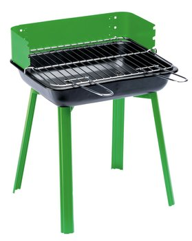 Grill węglowy LANDMANN Portago 11525, składany, blacha stalowa, zielony-LANDMANN