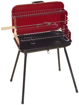 Grill węglowy walizkowy LANDMANN 11941, blacha stalowa, 49x30 cm-LANDMANN