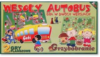 Gry planszowe Wesoły autobus i Grzybobranie