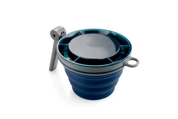GSI Outdoors, Kubek składany, niebieski, 625 ml-GSI Outdoors