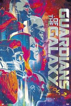 Guardians Of The Galaxy Vol. 2 - plakat z filmu 61x91,5 cm-Grupoerik