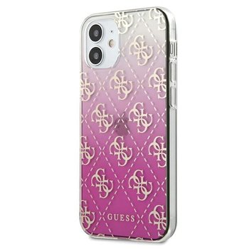 "Guess GUHCP12SPCU4GGPI iPhone 12 mini 5,4"" różowy/pink hardcase 4G Gradient-GUESS"