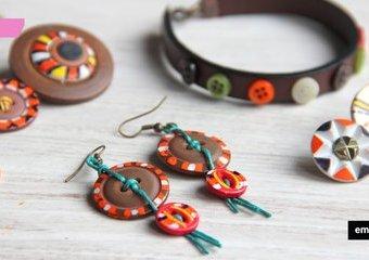 Guziki w nietypowej odsłonie - zrób z nich biżuterię na lato!