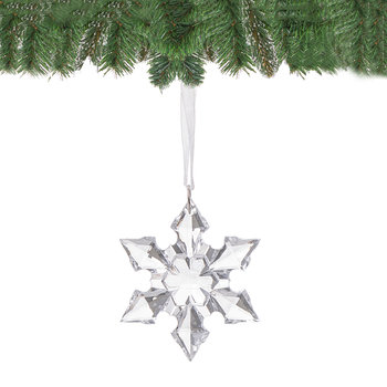Gwiazdka na choinkę SPRINGOS CA0078, kryształek, 5 cm-Springos