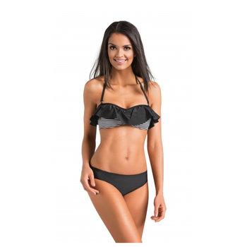 f9e3a7218719e1 Gwinner, Strój kąpielowy damski dwuczęściowy, Carmela, Czarny, rozmiar 40