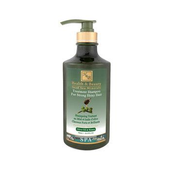 H&B, szampon odżywczy do włosów z oliwą z oliwek i miodem, 780 ml-H&B