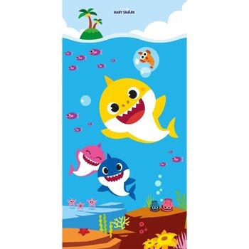 Halantex, Baby Shark, Ręcznik dziecięcy, 70x140 cm-Halantex