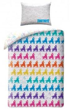 Halantex, Fortnite, Pościel dziecięca, bawełniana, 140x200 cm-Halantex