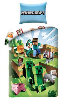 Halantex,Minecraft, Pościel dziecięca, Alex Stiff Pig owca, 160x200-Halantex