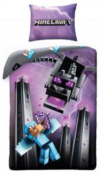 Halantex, Minecraft, Pościel dziecięca, Smok, 140x200 cm-Halantex