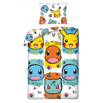 Halantex, Pokemon, Pościel bawełniana, 140x200 cm/70x90 cm-Halantex