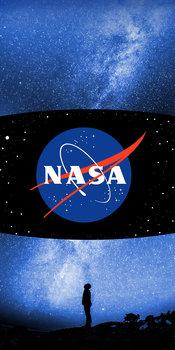 Halantex, Ręcznik bawełniany, NASA, NS-5061T, 70x140 cm-Halantex