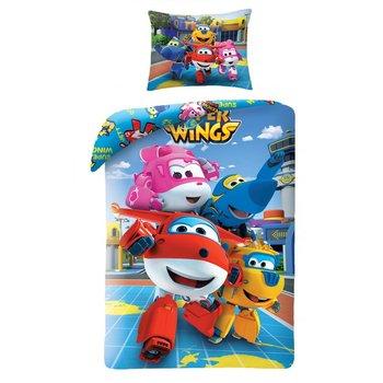Halantex, Super Wings, Pościel dziecięca, 140x200 cm-Halantex