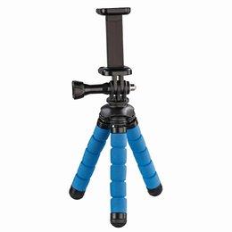 HAMA, Mini Statyw Flex 2W1 14 Cm, Niebieski