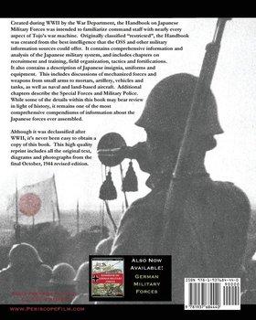 Handbook on Japanese Military Forces War Department Technical Manual-Department War
