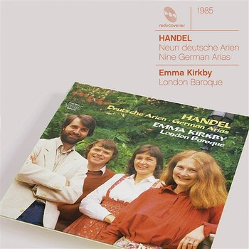 Handel 9 German Arias HWV 202-210 - Dame Emma Kirkby, London Baroque