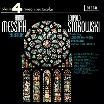 """Handel: Messiah - Part 2 - """"He was cut off...But Thou didst not leave his soul in Hell""""-Kenneth Bowen, London Symphony Orchestra, Leopold Stokowski"""