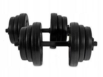 Hantelki hantle 20 KG zestaw dwóch hantli po 10kg fitness ModernHome-ModernHome