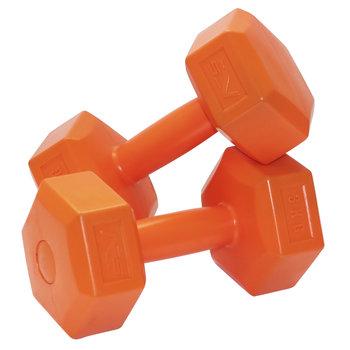 Hantle hantelki sztangielki 2x3 kg 6kg zestaw hantli-SportVida