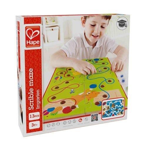 Hape, zabawka dla dzieci Zakręcony labirynt