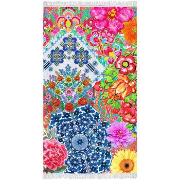 Happiness Ręcznik plażowy ZAIRA, 100x180 cm, kolorowy-Happiness