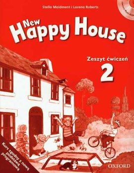 Happy house new 2. Zeszyt ćwiczeń + CD - Maidment Stella