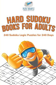 Hard Sudoku Books for Adults | 240 Sudoku Logic Puzzles for 240 Days-Puzzle Therapist