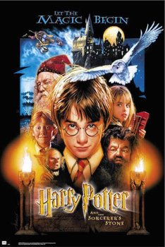 Harry Potter i Kamień Filozoficzny - plakat 61x91,5 cm-Grupoerik