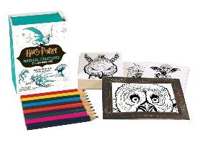 Harry Potter Magical Creatures Coloring Kit - Running Press