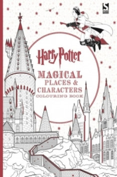 Harry Potter Magical Places & Characters. Colouring Book-Opracowanie zbiorowe