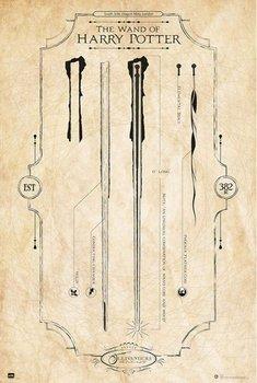 Harry Potter The Wand - plakat 61x91,5 cm-Grupoerik