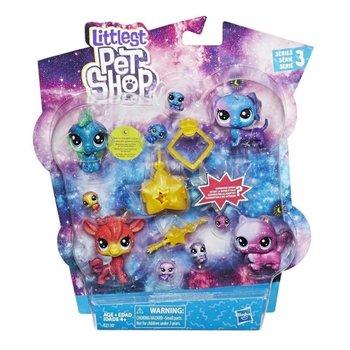 Hasbro, Littlest Pet Shop, figurki Kosmiczne Zwierzaki, zestaw-Hasbro
