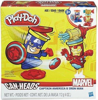 Hasbro, Play-Doh, ciastolina Kapitan Ameryka i Iron Man-Hasbro